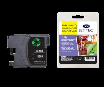 Jet Tec Tintenpatrone (schwarz) [B11B]