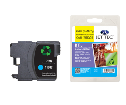 Jet Tec Tintenpatrone (cyan) [B11C]