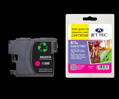Jet Tec Tintenpatrone (magenta) [B11M]
