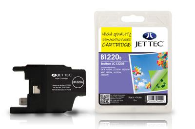 Jet Tec Tintenpatrone (schwarz) [B1220B]