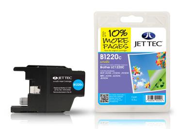 Jet Tec Tintenpatrone (cyan) [B1220C]