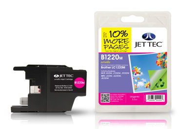 Jet Tec Tintenpatrone (magenta) [B1220M]