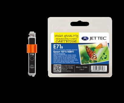 Jet Tec Tintenpatrone (schwarz) [E71B]