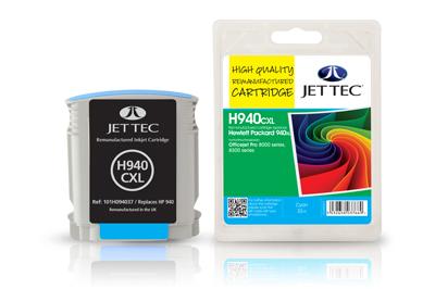Jet Tec Tintenpatrone (cyan) [H940CXL]