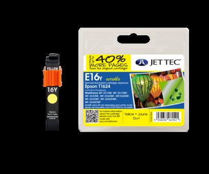 Jet Tec Tintenpatrone (gelb) [E16Y]