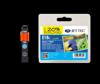 Jet Tec Tintenpatrone (cyan) [E18C]