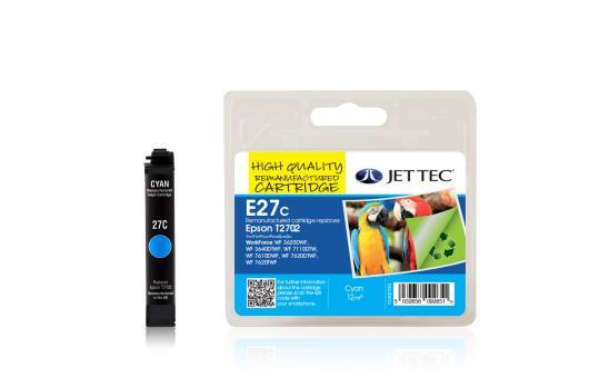 Jet Tec Tintenpatrone (cyan) [E27C]