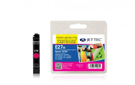 Jet Tec Tintenpatrone (magenta) [E27M]