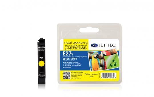 Jet Tec Tintenpatrone (gelb) [E27Y]