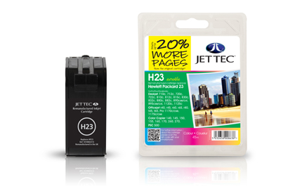 Jet Tec Tintenpatrone (color) [H23]