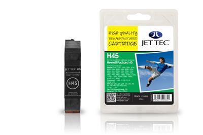 Jet Tec Tintenpatrone (schwarz) [H45]