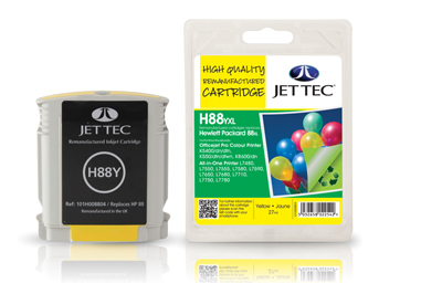 Jet Tec Tintenpatrone (gelb) [H88YXL]