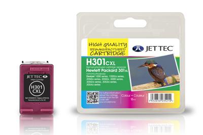 Jet Tec Tintenpatrone (color) [H301XLC]