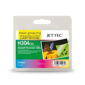 Jet Tec Tintenpatrone (color) [H304CXL]