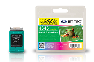 Jet Tec Tintenpatrone (color) [H343]