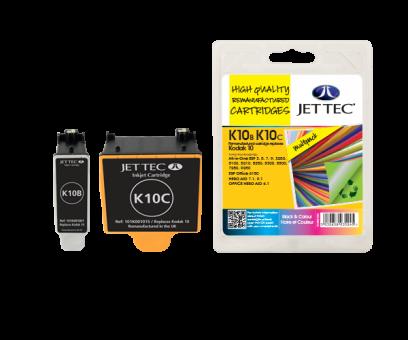 Jet Tec Tintenpatronensatz (2 Patronen) K10B/C