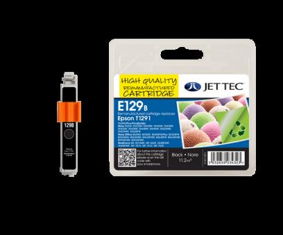 Jet Tec Tintenpatrone (schwarz) [E129B]